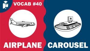 Lesson 40 Vocabulary